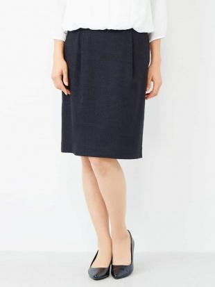 ブラック 【セットアップ対応】ストレッチツィードタイトスカート[WEB限定サイズ] a.v.v見る