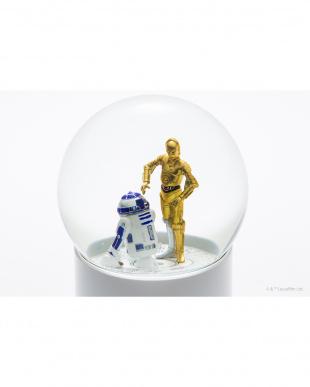 R2-D2&C-3PO スター・ウォーズ ワイヤレススノーグローブスピーカーを見る