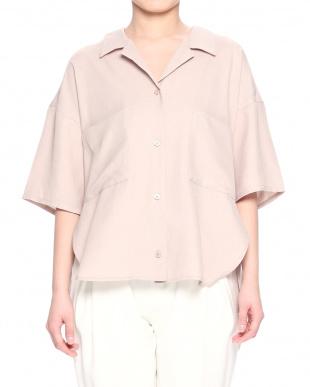 BURGUNDY リラックスデザートシャツを見る