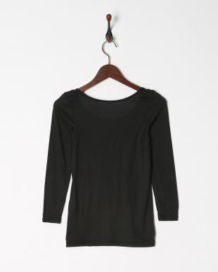 ブラック 吸湿発熱 ヒートエディット 8分袖シャツを見る