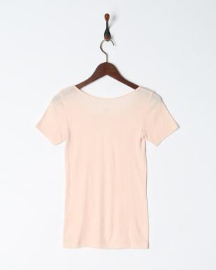 ピンク 暖かくてムレにくい 保温性×通気性 3分袖シャツを見る