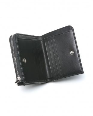 ブラックブラック クロコダイルコンパクト財布を見る