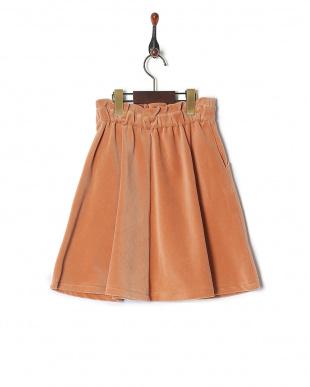 ライトオレンジ スカートを見る