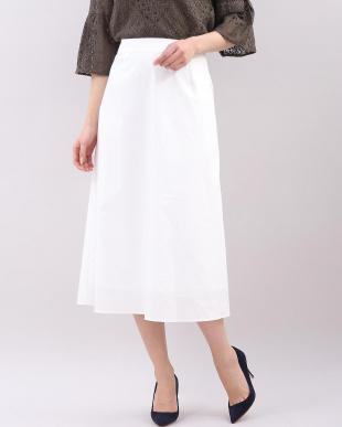 オフホワイト1 フレアAラインスカート I.T.'S. international見る
