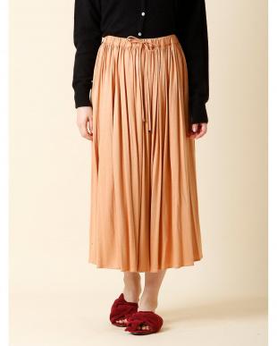 ピンク1 プリーツミモレ丈スカート 7-ID concept.見る