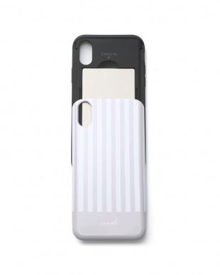 シェルベージュ カードケース&ミラー付きiPhoneケースを見る