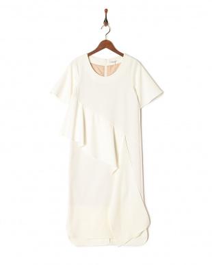 オフホワイト DRAPE DRESSを見る