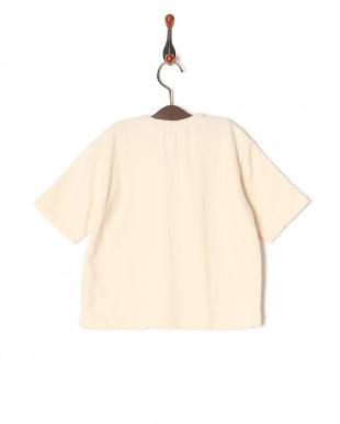 アイボリー 【isookbaby】OVERCROWロゴスウェットTシャツを見る