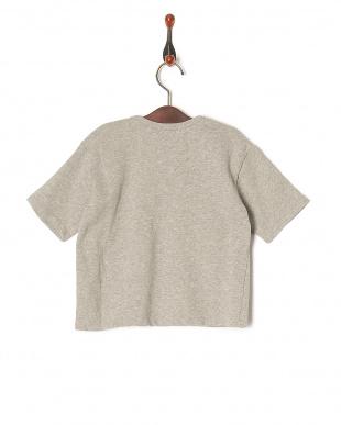 グレー 【isookbaby】OVERCROWロゴスウェットTシャツを見る