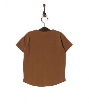 ブラウン 【isookbaby】ベーシックTシャツを見る