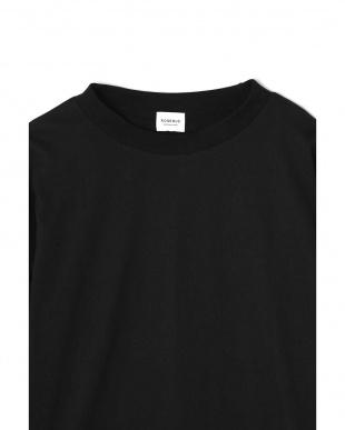 ブラック1 袖コンシャスカットソー R/B(オリジナル)見る