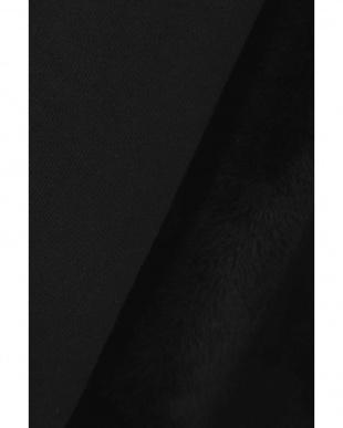 ブラック1 袖ファー裏毛トップス R/B(オリジナル)見る