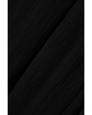 ブラック1 ギャザーワイドパンツ R/B(オリジナル)見る