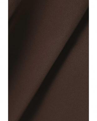 ブラウン1 ウエストリボンテーパードパンツ R/B(オリジナル)見る