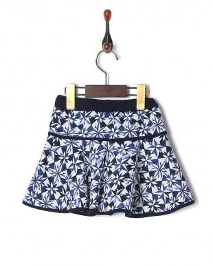 シロ*ネイビー  スカートを見る