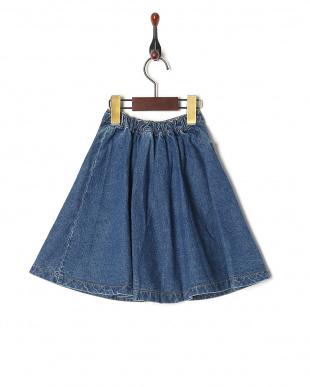Lブルー スカートを見る