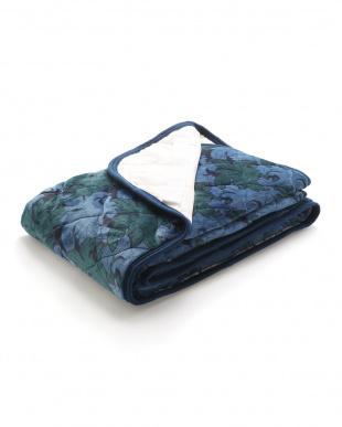 ブルー  高品質フランネル敷きパッド(吸湿発熱わた使用)を見る