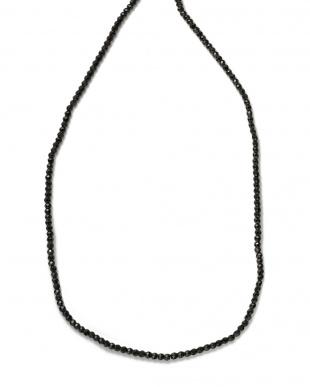 ブラックスピネル シルバー×ブラックスピネル ネックレスを見る