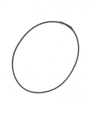 ブラック マグネット コードネックレス 61.5cmを見る