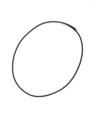 ブラック マグネット コードネックレス 61cmを見る