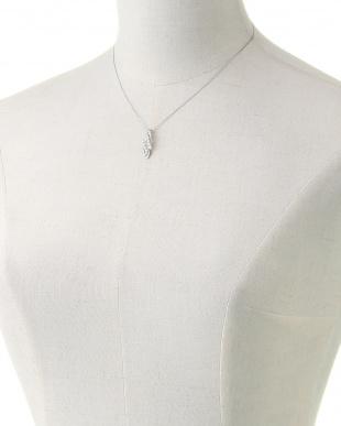 PT900/PT850 天然ダイヤモンド 計0.5ct デザイン ネックレス ベネチアン40cmを見る
