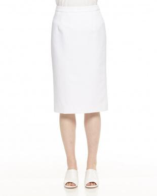 紺 ベーシックタイトスカートを見る