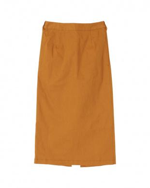 キャメル バックゴムタイトスカートを見る