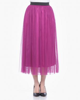 ピンク  チュールスカートを見る