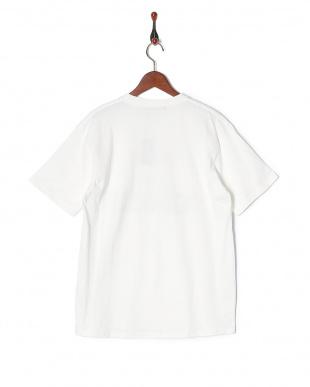 ホワイト  CYA/TS NOW OR NEVER天竺クルーネック半袖Tシャツを見る