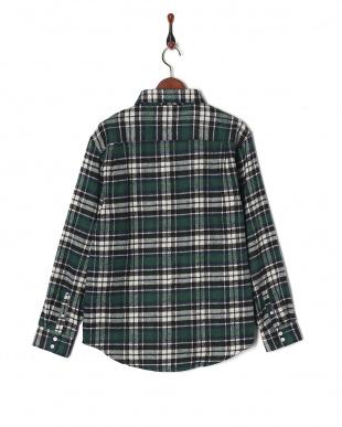 グリーン CYA/CHECK SHIRT LUCKYビエラチェックシャツRGシャツを見る