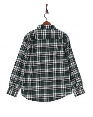 グリーン CYA/CHECK SHIRT KNOW NOTHビエラチェックシャツRGシャツを見る