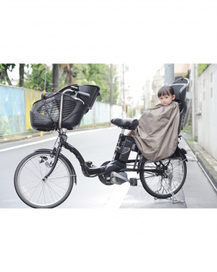 グレー  バイクブランケット子供乗せ自転車用を見る