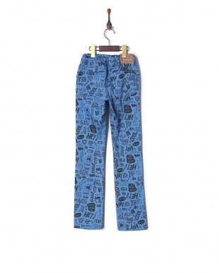 ロイヤルブルー 4色2柄ストレッチパンツを見る