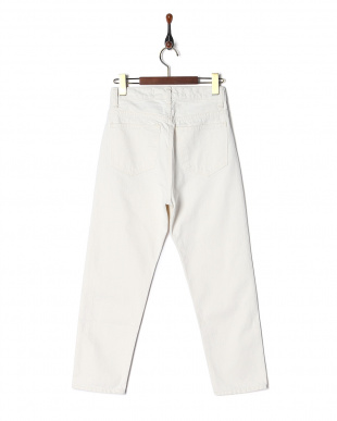 WHITE HIGHWAIST SLIM PANTSを見る