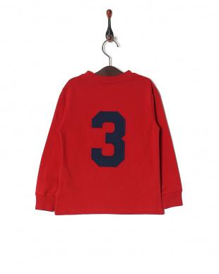 RED コットン ロングスリーブ Tシャツを見る