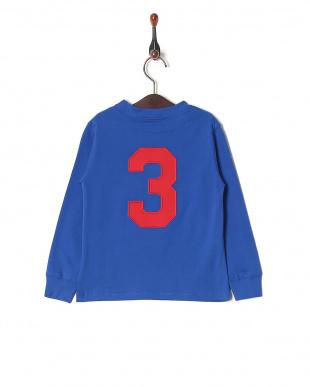 SAPPHIRE BLUE コットン ロングスリーブ Tシャツを見る