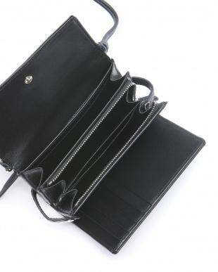 ネイビー クロコダイル多機能財布を見る