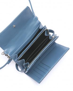 ブルージーン クロコダイル多機能財布を見る