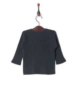 ブラック 60//-テレコ ベビーL/S Tシャツを見る