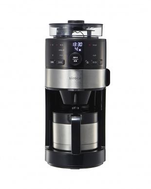 シルバー siroca コーン式全自動コーヒーメーカーを見る
