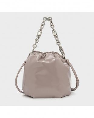 Nude  チェーンハンドル バケツバッグ / CHAIN HANDLE BUCKET BAGを見る