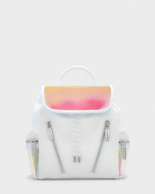 White メッシュディテール ショルダーバッグ / MESH DETAIL SHOULDER BAGを見る