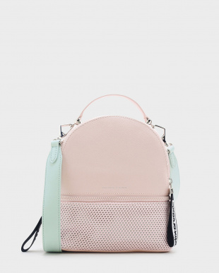 Pink メッシュディテール バックパック / MESH DETAIL BACKPACKを見る