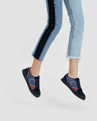 Dark Blue クラシック レースアップ スニーカー / CLASSIC LACE UP SNEAKERSを見る