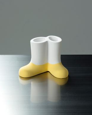 イエロー 珪藻土歯ブラシスタンド(2本用)ブーツ型を見る
