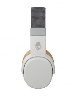 Gray/Tan/Gray Crusher Wireless ワイヤレスヘッドホンを見る