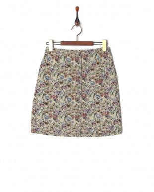 ベージュ ゴブランスカートを見る