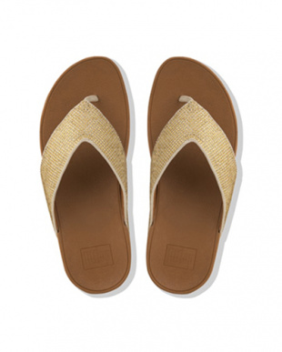 Gold Mix RITZY TOE-THONG SANDALSを見る