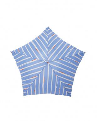 キャンディ ブルー 軽量折りたたみ傘(デザイン)を見る
