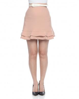 ピンクベージュ  skirtを見る